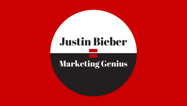 Justin Bieber Equals Marketing Genius