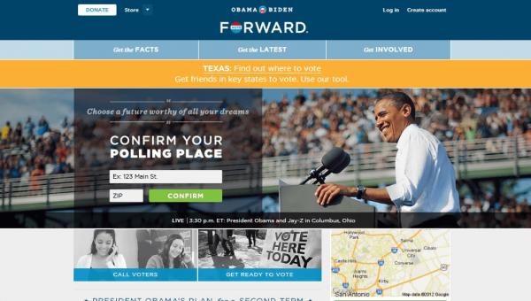 Political Website Comparison