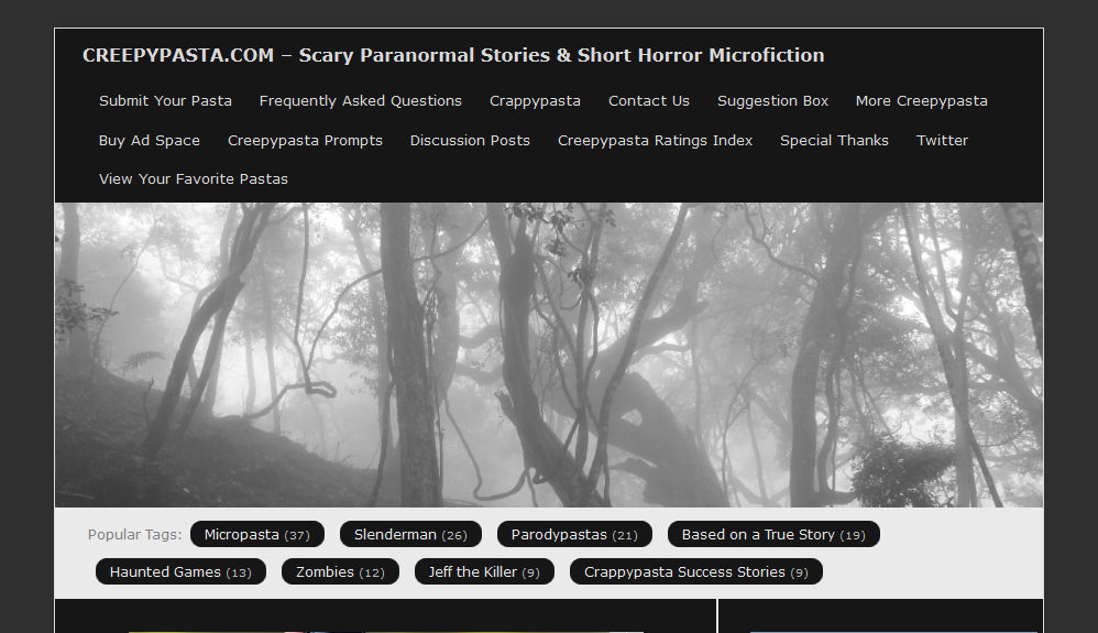epoff six scary websites just in time for halloween epoff. Black Bedroom Furniture Sets. Home Design Ideas