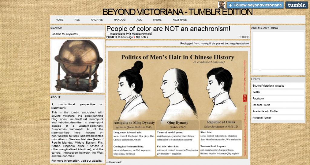 Beyond Victoriana - Tumblr Edition