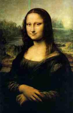 CSS Mona Lisa