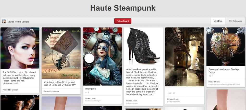 Pinterest - Haute Steampunk