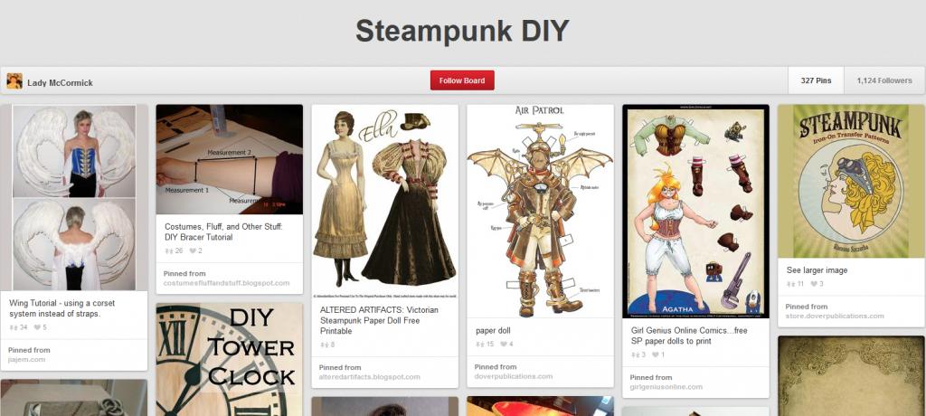 Pinterest - Steampunk DIY